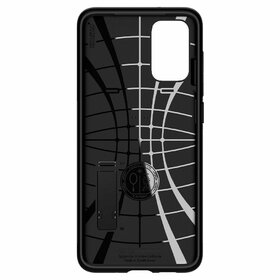 Husa Spigen Slim Armor cu stand pentru Samsung Galaxy S20 Plus Black