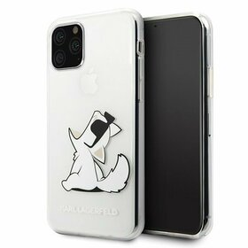 Husa transparenta Karl Lagerfeld (Choupette Fun) pentru iPhone 11 Pro Transparent