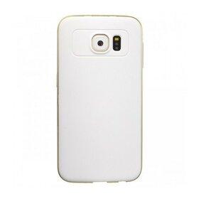 Husa Varnish Design pentru Galaxy S6 Edge White