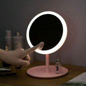 Oglinda cu LED pentru make-up cu incarcare USB