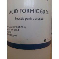 Acid formic 1L concentratie 60%