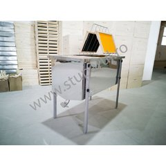 Banc descapacit inox 1500 mm imbunatatit economic