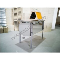 Banc descapacit inox 750mm imbunatatit economic