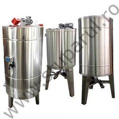 Bazin omogenizare miere lichida 1000 l cu agitator Lyson