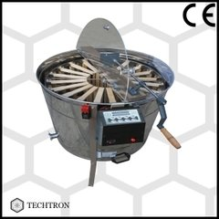 Centrifuga apicola combinata 4 rame 1/1 tangential sau 20 rame 3/4 radial  electrica 220V/12V si manuala Techtron