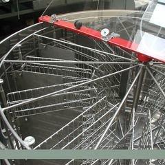 Centrifuga apicola reversibila inox 16 rame multietajat electrica 220V semiautomata Lyson