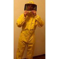 Combinezon apicol  cu masca cu fermuar A-MARINO