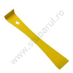 Dalta apicola tip L inox vopsita galben