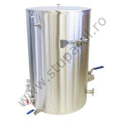 Decristalizator miere cu pereti dubli cu apa, 100 kg miere, Lyson
