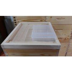 Hranitor albine dreptunghiular 1500gr