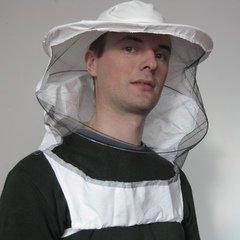 Masca apicola cu bust si plasa detasabila