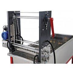 Masina de descapacit rame semiautomata incalzire cutite cu rezistenta electrica