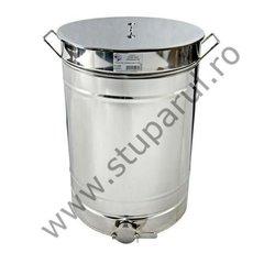 Maturator inox canea inox 140kg miere 100 litri cu manere Lyson