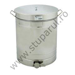 Maturator inox canea inox 210kg miere 150 litri cu manere Lyson