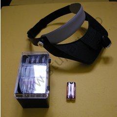 Ochelari pentru transvazare cu lupa