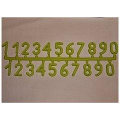 Placa 21 cifre numerotat stupi
