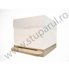 Soclu antivarroa lemn 10 rame 22mm, parafinat