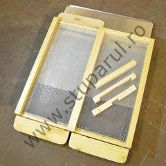 Soclu antivarroa lemn 12 rame 22mm, parafinat
