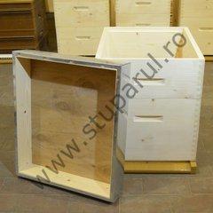 Stup vertical 10 rame hibrid cu panza anticondens