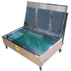 Topitor solar inox pentru trei rame cuib