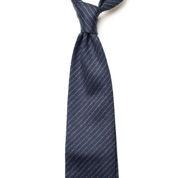 Chalkstripe Wool Tie
