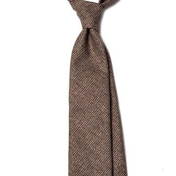 Charcoal Wool tie