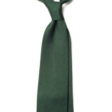 Garza Fina Grenadine Silk Tie - Green