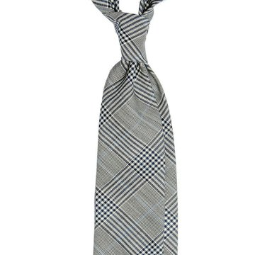 Glen Check Wool Tie