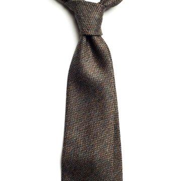 Handrolled Wool Tie