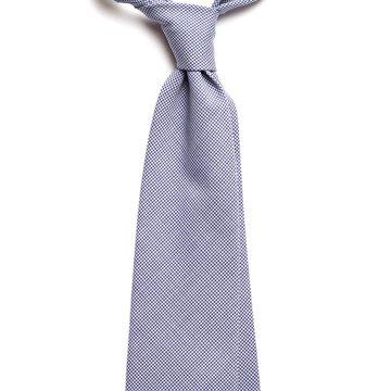 Houndstooth Wool Tie