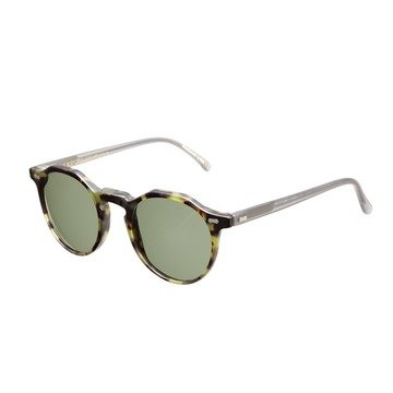 LAPEL MATTE  GREEN FRAME - BOTTLE GREEN LENSES