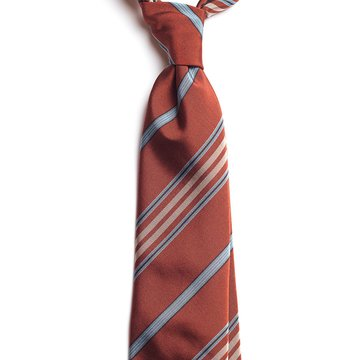 Multi Stripe Silk Tie