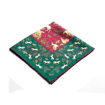 Oriental pocket square