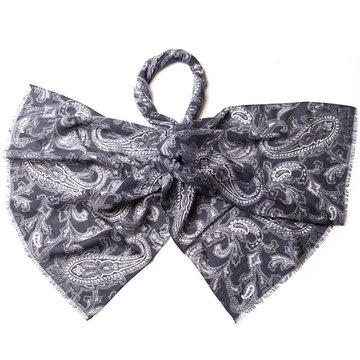 Paisley wool scarf