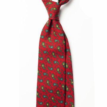 Paisley Wool Tie
