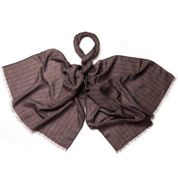 Pin Stripe wool scarf