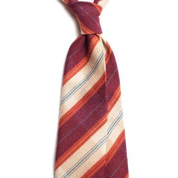 Plaid Wool Tie