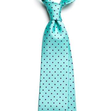 Polka Dots Silk Tie