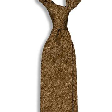 Solid Linen Tie - Matcha Green
