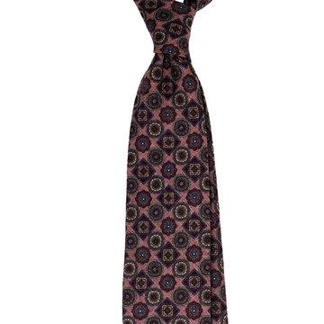 Vintage Medallion Wool Tie