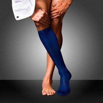 Ciorapi pana la genunchi FALKE No. 10 royal blue