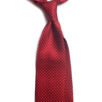 Cravata 7-fold matase model pin-dot