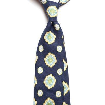 Cravata in model medallion