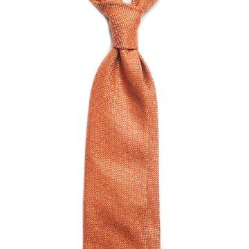 Cravata lana Orange
