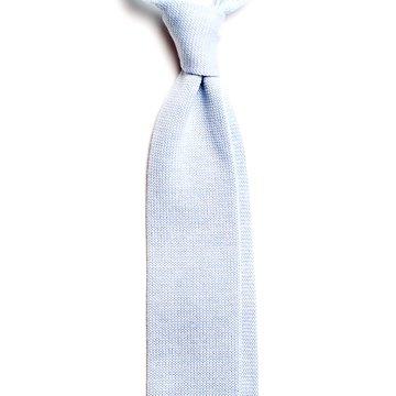 Cravata lana tricotata bleu
