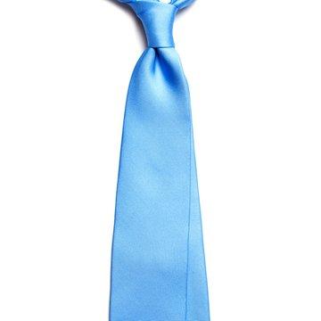 Cravata matase bleu