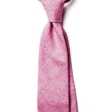 Cravata matase roz
