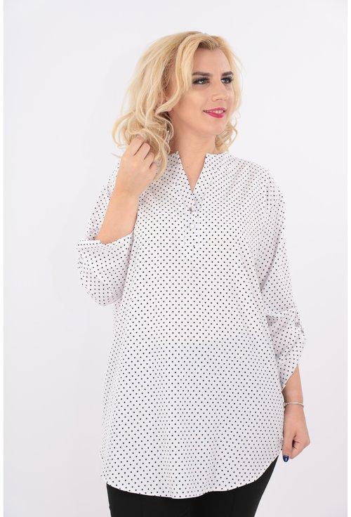 Bluza lunga cu buline