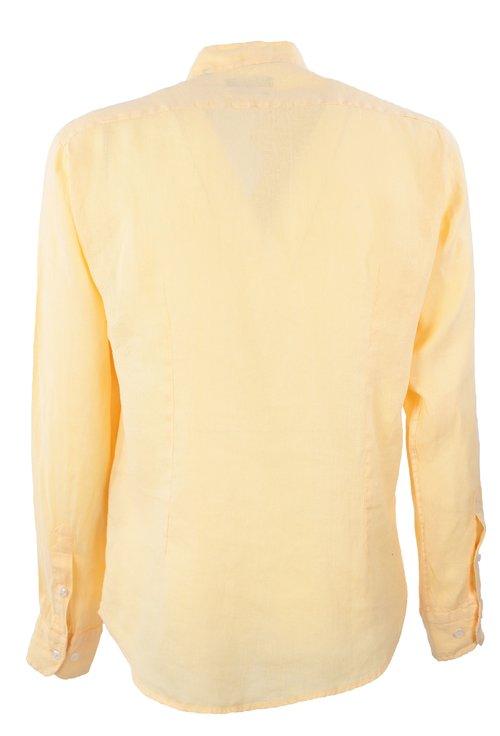Camasa galbena cu guler tunica si anchior