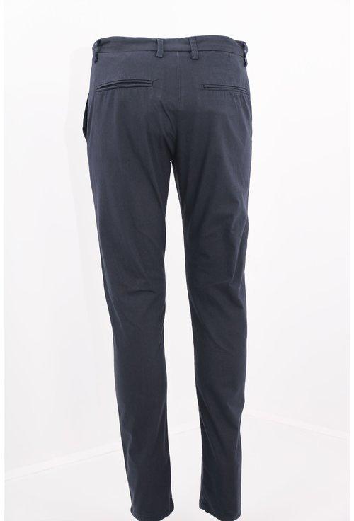 Pantaloni bleumarin skinny fit